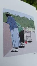 Image 2 of Grandma and the Hash Man - Print