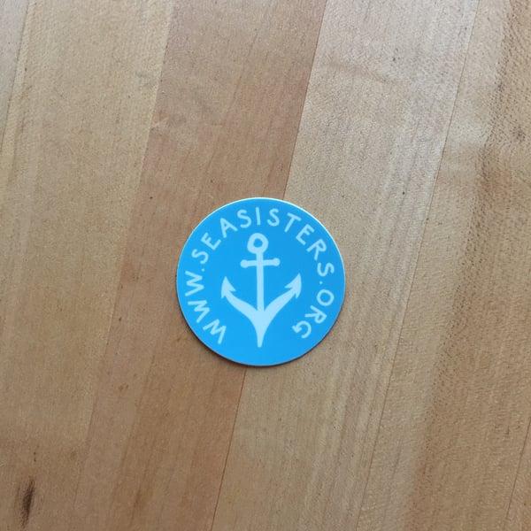 Image of Round sticker