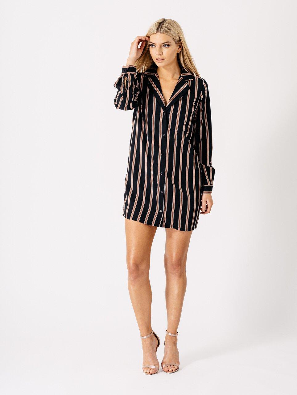 Image of Arie shirt dress