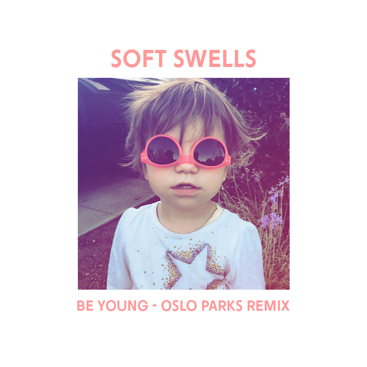 """Image of BE YOUNG (OSLO PARKS REMIX)/LIGHTS RUN (DEMO) 7"""""""