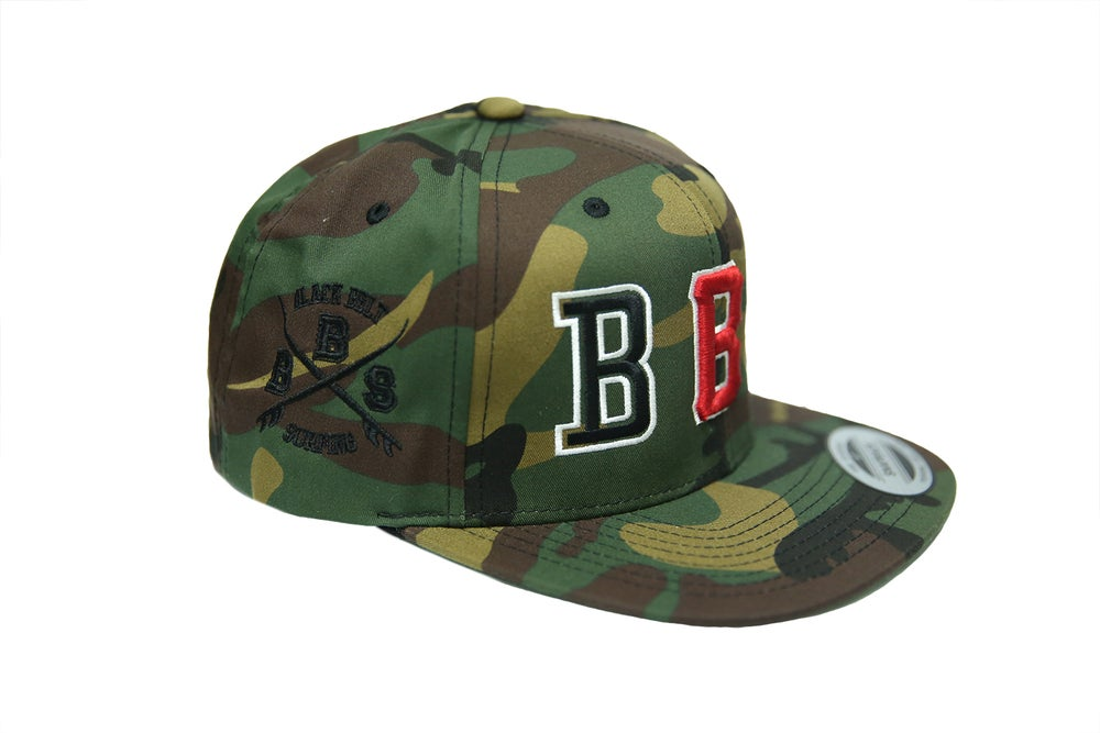 Image of Camo BBS Stencil Snapback