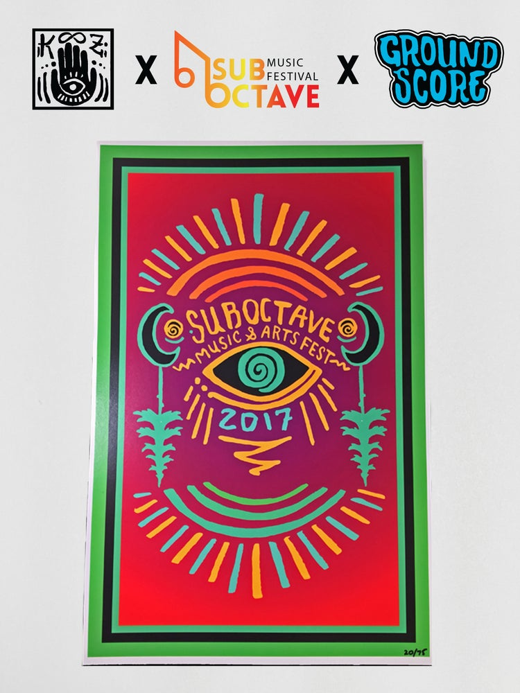 Image of Official SubOctave Music Festival Poster