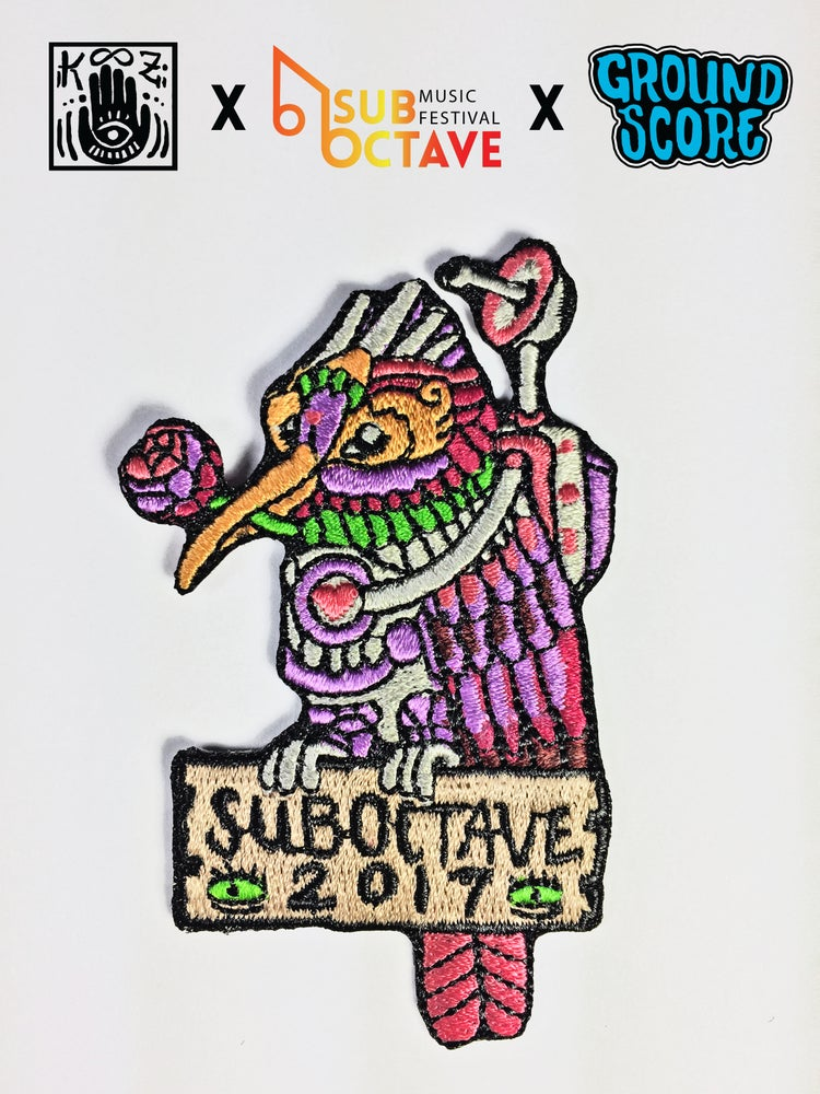 Image of Official SubOctave Music Festival Patch