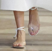 Image of Raven Clear Sandals