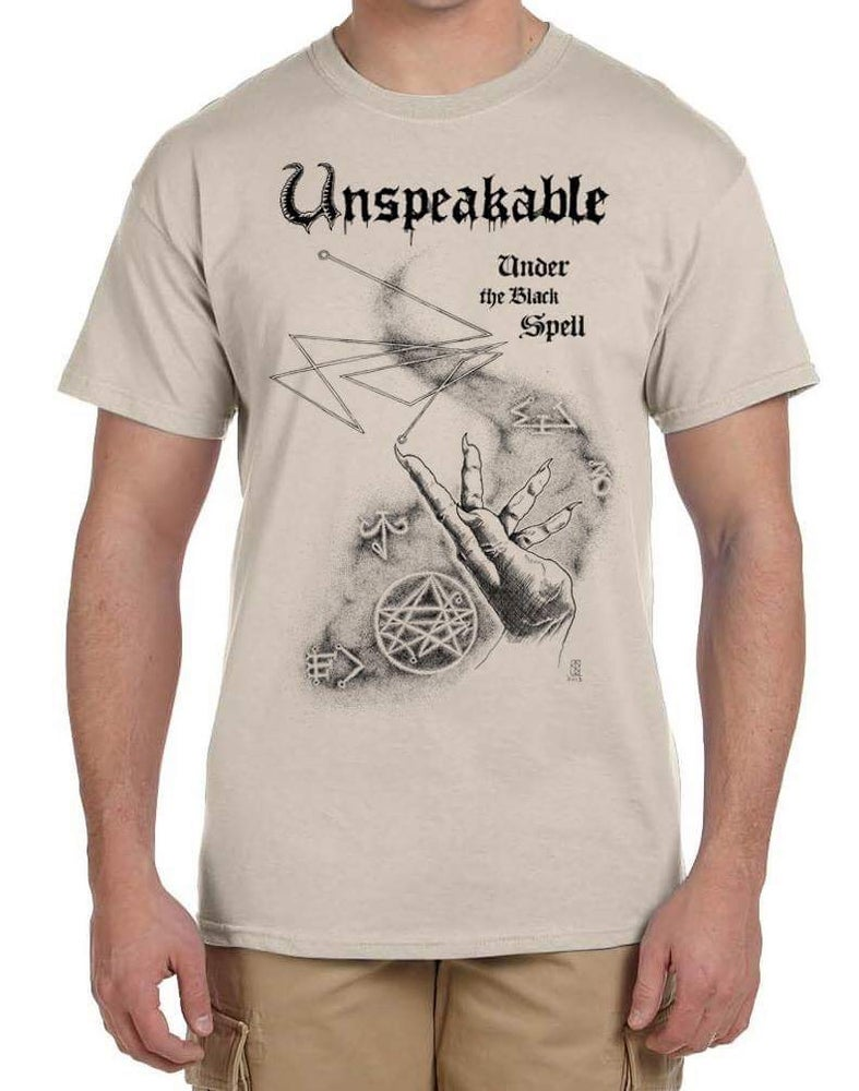 Image of UNSPEAKABLE - Under the Black Spell t-shirt