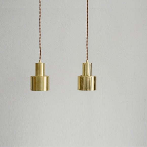Image of Brass pendant lamp
