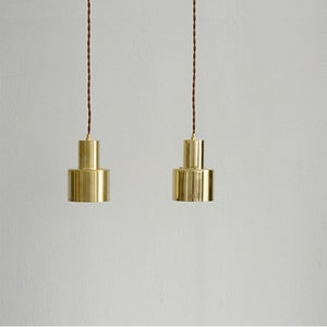 Image of Brass pendant lamp