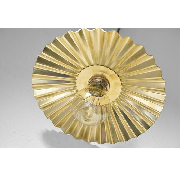 Image of Brass pendant lamp - Origami