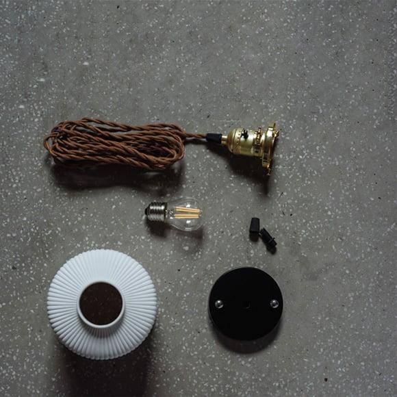 Image of Ceramic pendant lamp