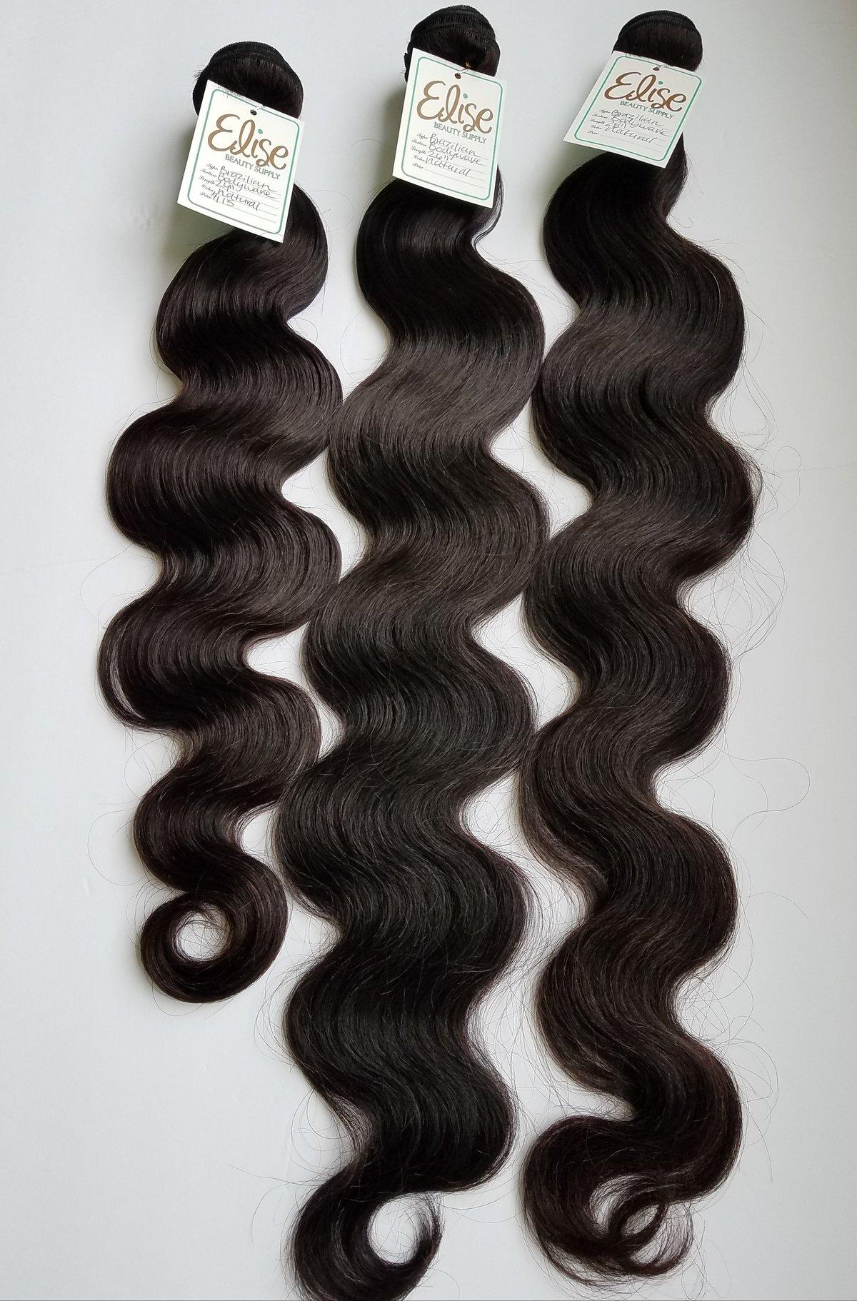 3 Hair Bundle Deal Human Hair Extensions Elise Remy Hair