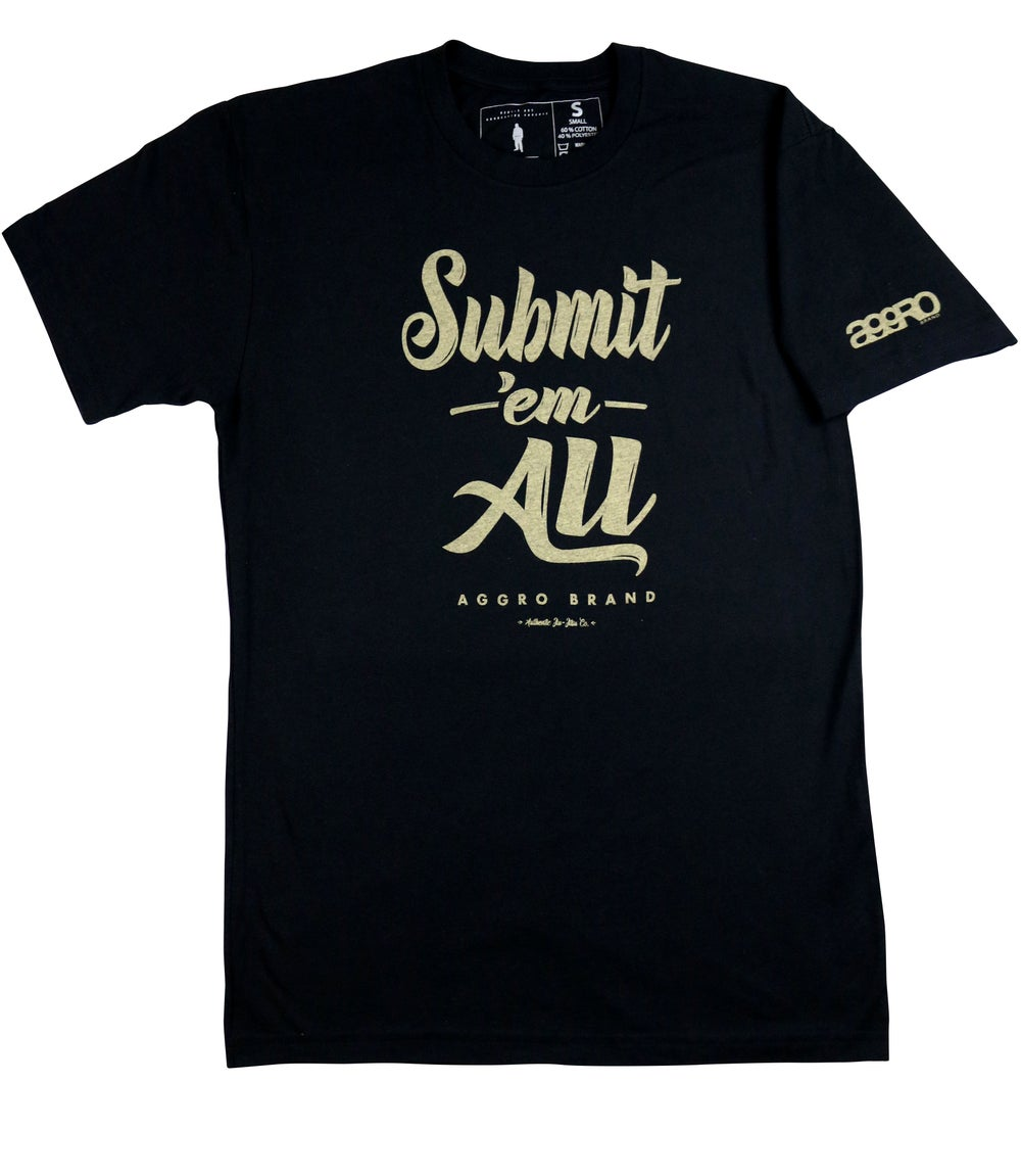 "Image of AGGRO BRAND ""Submit 'Em All"" Shirt"