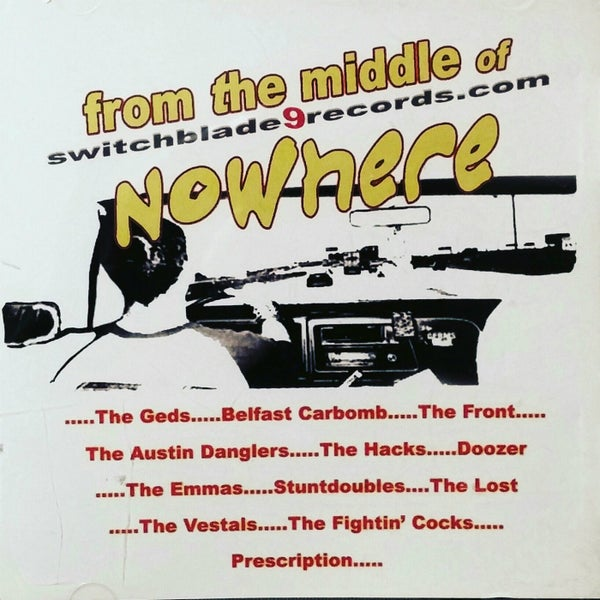 Image of From The Middle Of Nowhere Compilation CD