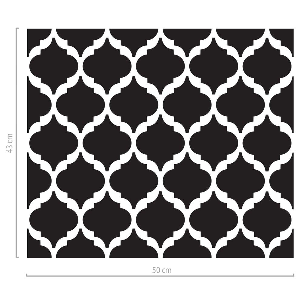 Image of Fensterfolie mit Motiv - marokkanische Formen
