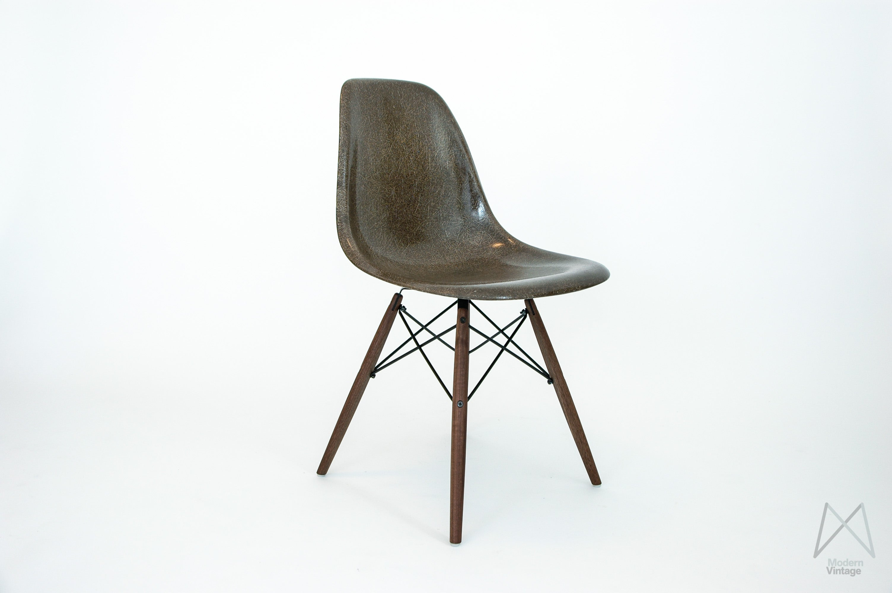Image Of Eames DSW/DSX/DSR Seal Brown Stuhl Sessel ...