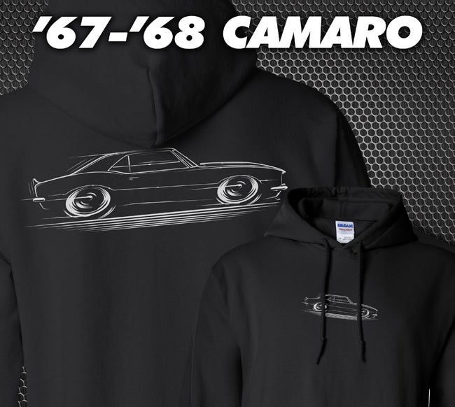 Image of '67-'68 Camaro T-Shirts Hoodies Banners