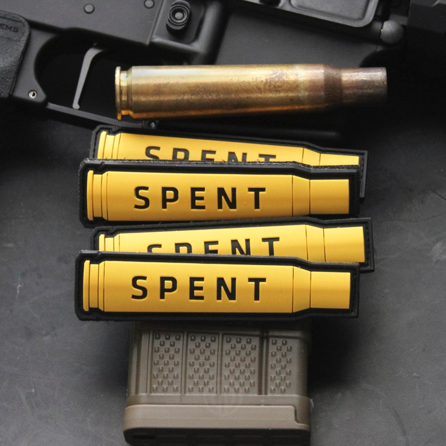Image of Spent: 50BMG