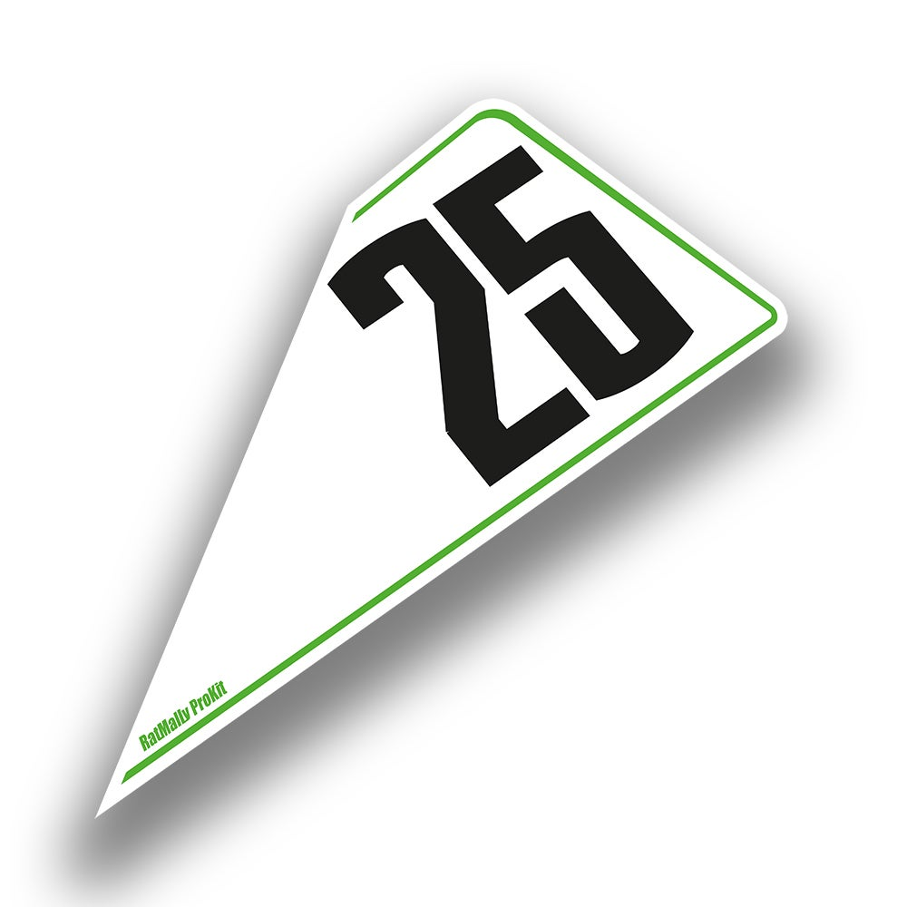 Image of  Race Number Boards. To Fit Kawasaki ZX-10R 2015>
