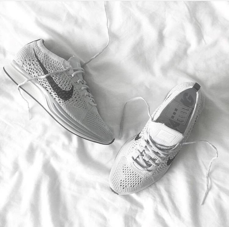 Image of Nike Flyknit Racer - Carbon Grey