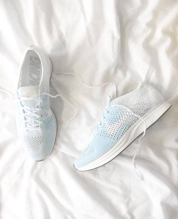 Image of Nike Flyknit Racer - Baby Blue FADE