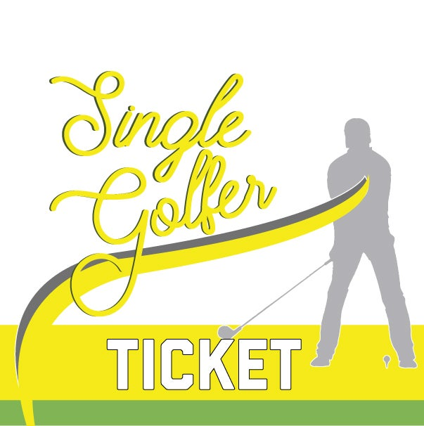 Image of Single Golfer Ticket