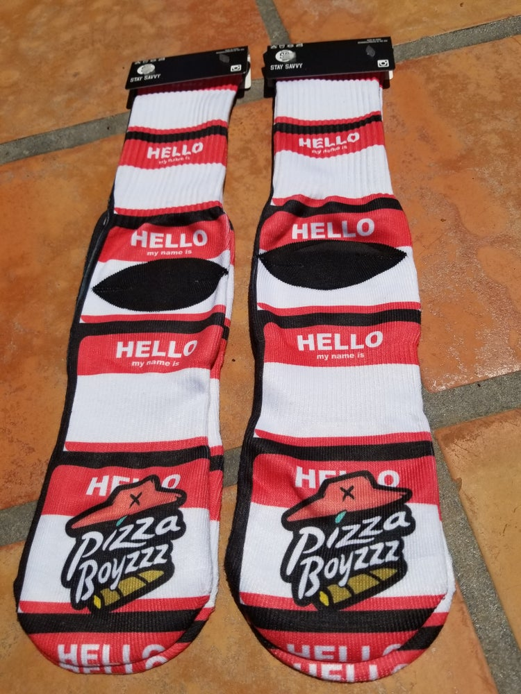 Image of HELLO MY NAME IS - SOCKS SERIES 9