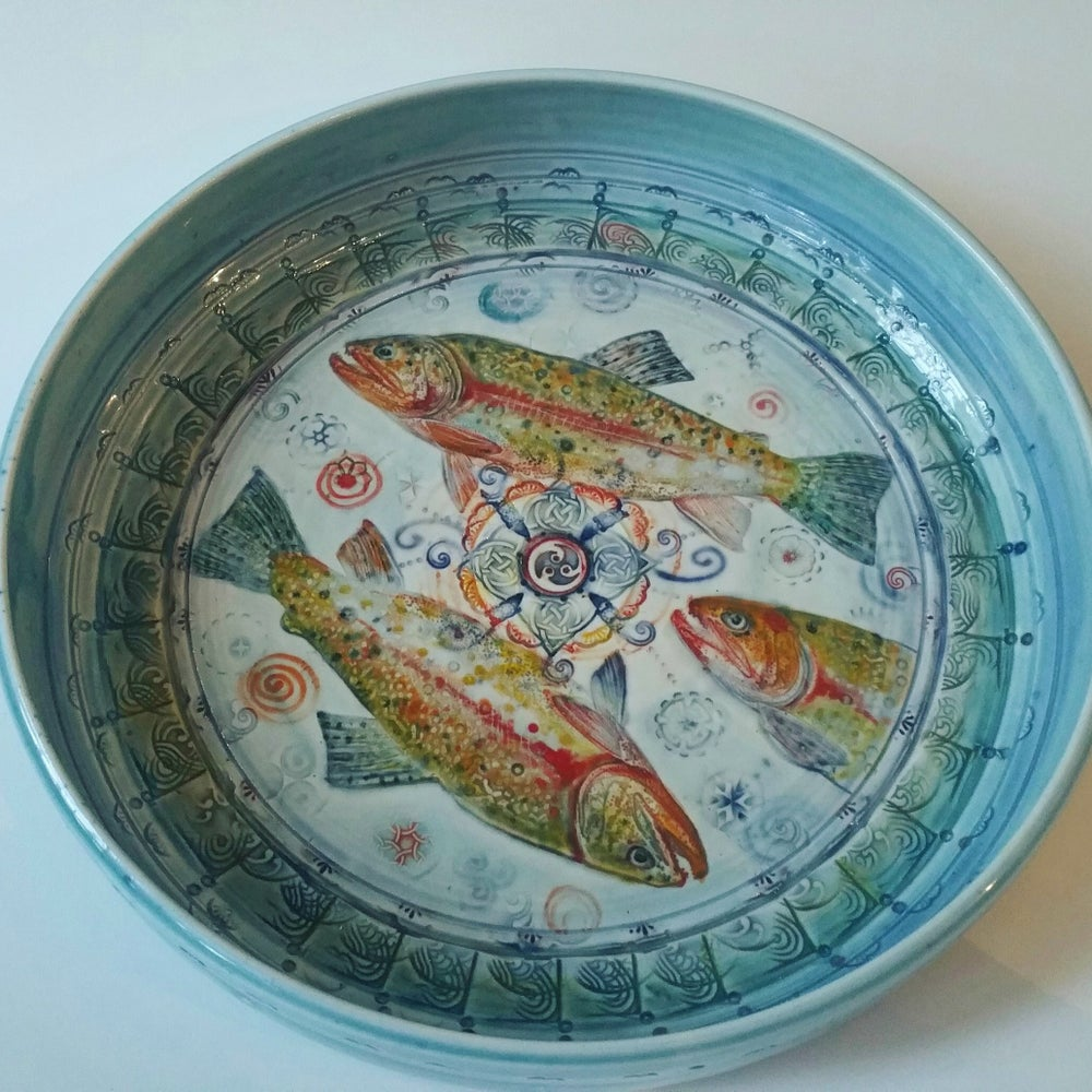Image of Bohemianwimz Rainbow Trout Dish