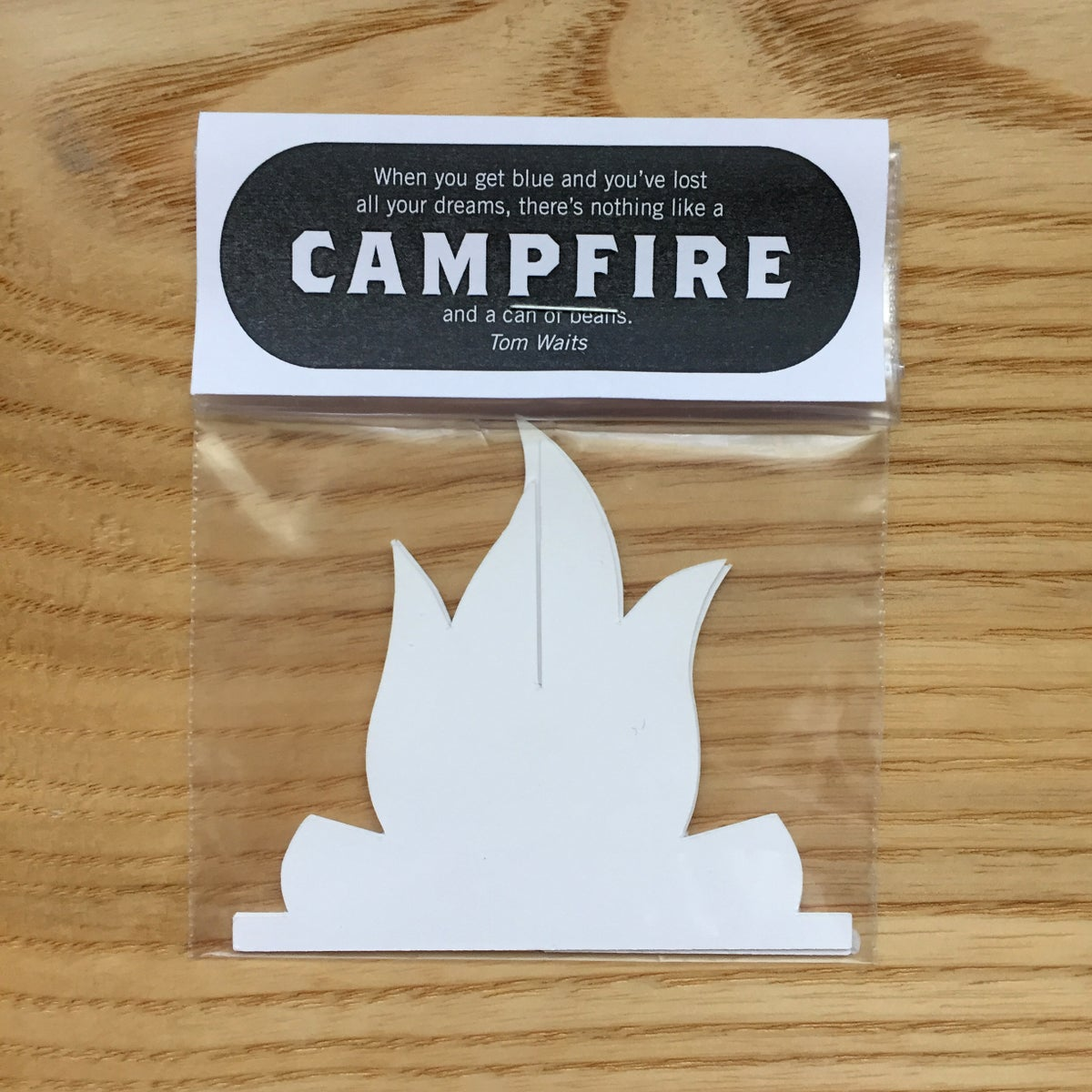 Image of Campfire Paper Sculpture