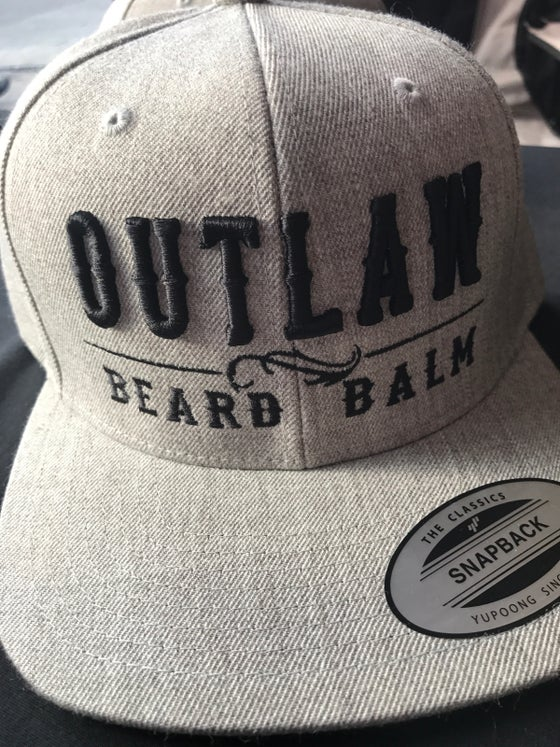 Image of OBB BLACK/GREY SNAPBACKS
