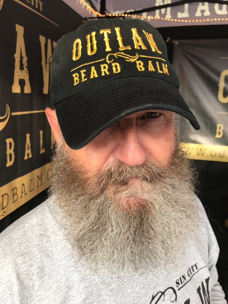 Image of OUTLAW BEARD BALM DAD HAT