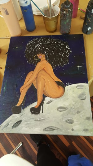 "Image of ""Moonlight"" Canvas"