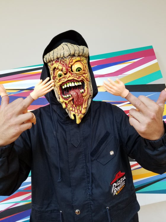 Image of JIMBO PHILLIPS - OFFICIALLY LICENSED PIZZA FIEND FACE MASK