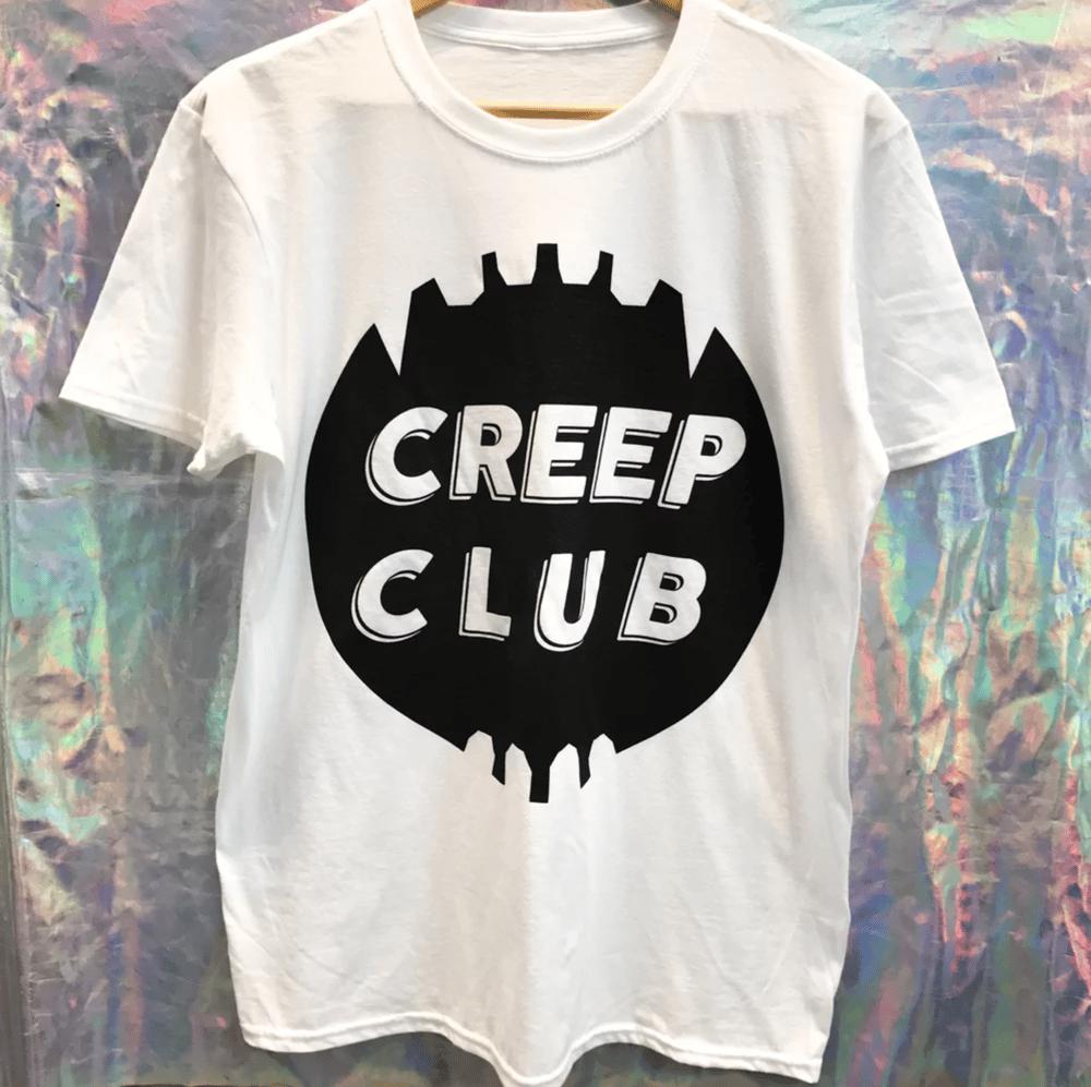 Image of CREEP CLUB TEETH LOGO T-SHIRT