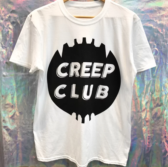 Image of CREEP CLUB TEETH LOGO T-SHIRT