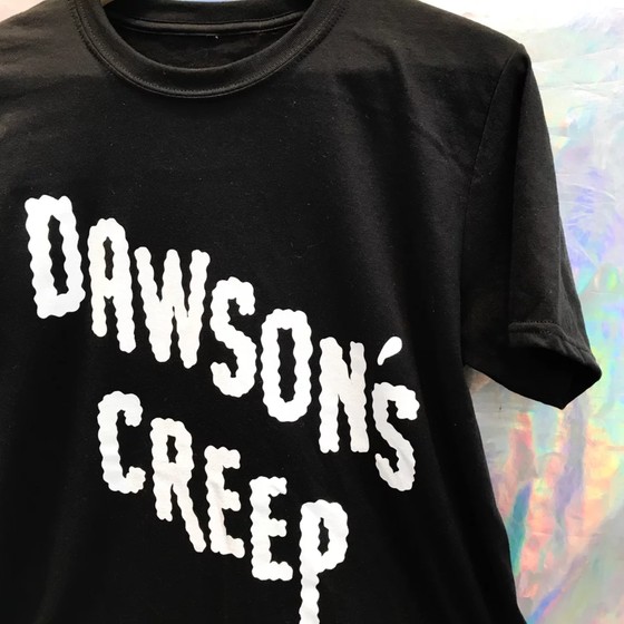 Image of DAWSON'S CREEP SLOGAN T-SHIRT