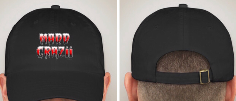 Image of MADD CRAZii DAD HAT