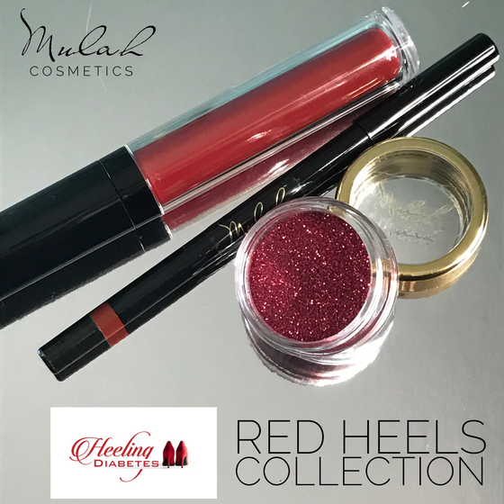 Image of Red Heels Collection - Heeling Diabetes Campaign
