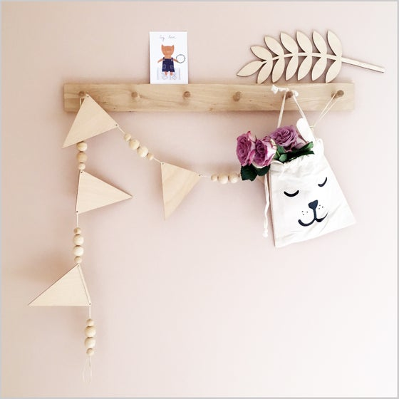Image of Wooden Garlands