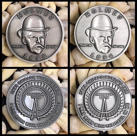 Image of Serial Killer H.H. Holmes Coin