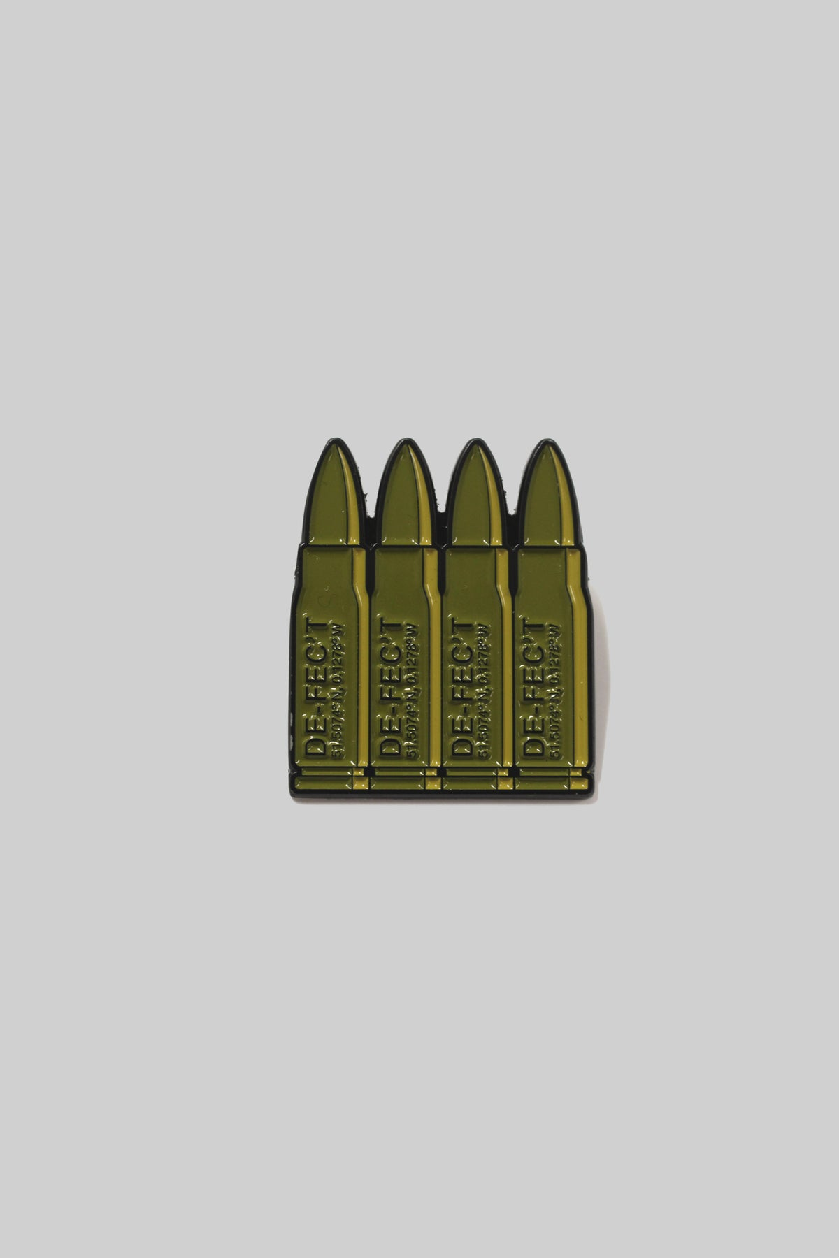 Image of Bullets Enamel Pin