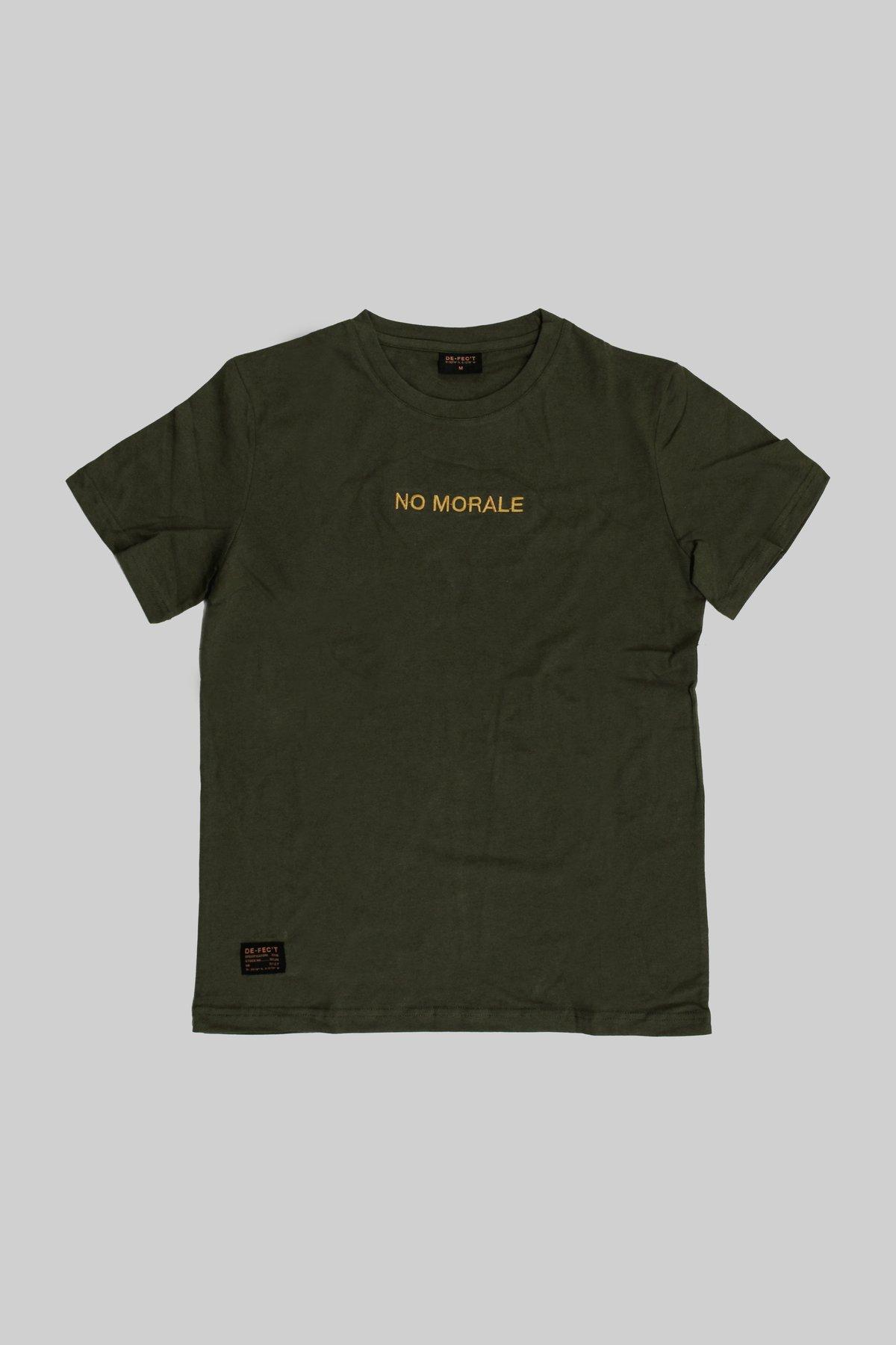 Image of No Morale - Crewneck T-shirt