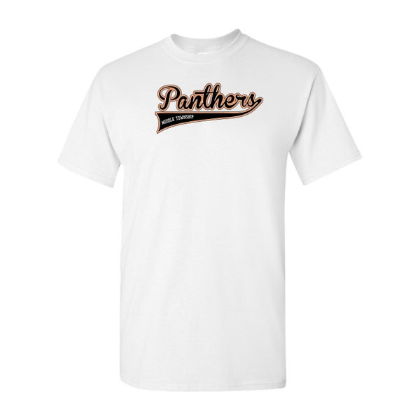 Image of Panthers Logo Tee (White)