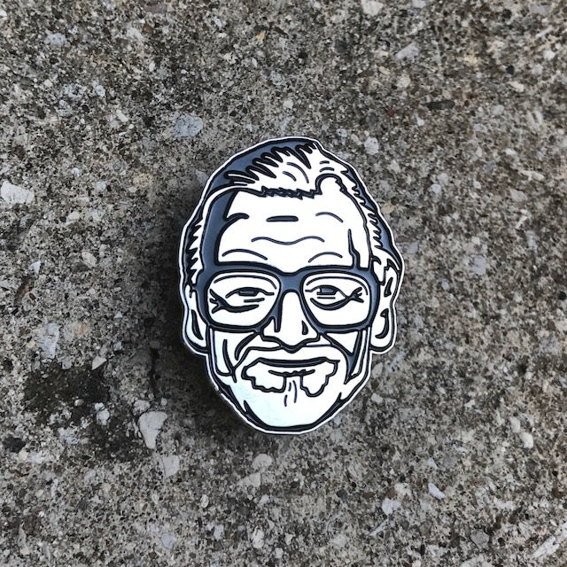 Image of ALWAYS SMILING Shiny Nickel Pin