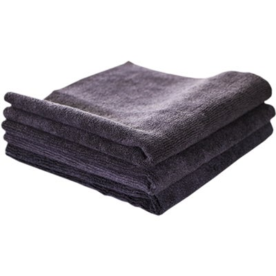Image of Midnight Black Edgeless Microfiber 16x16 (3-Pack)