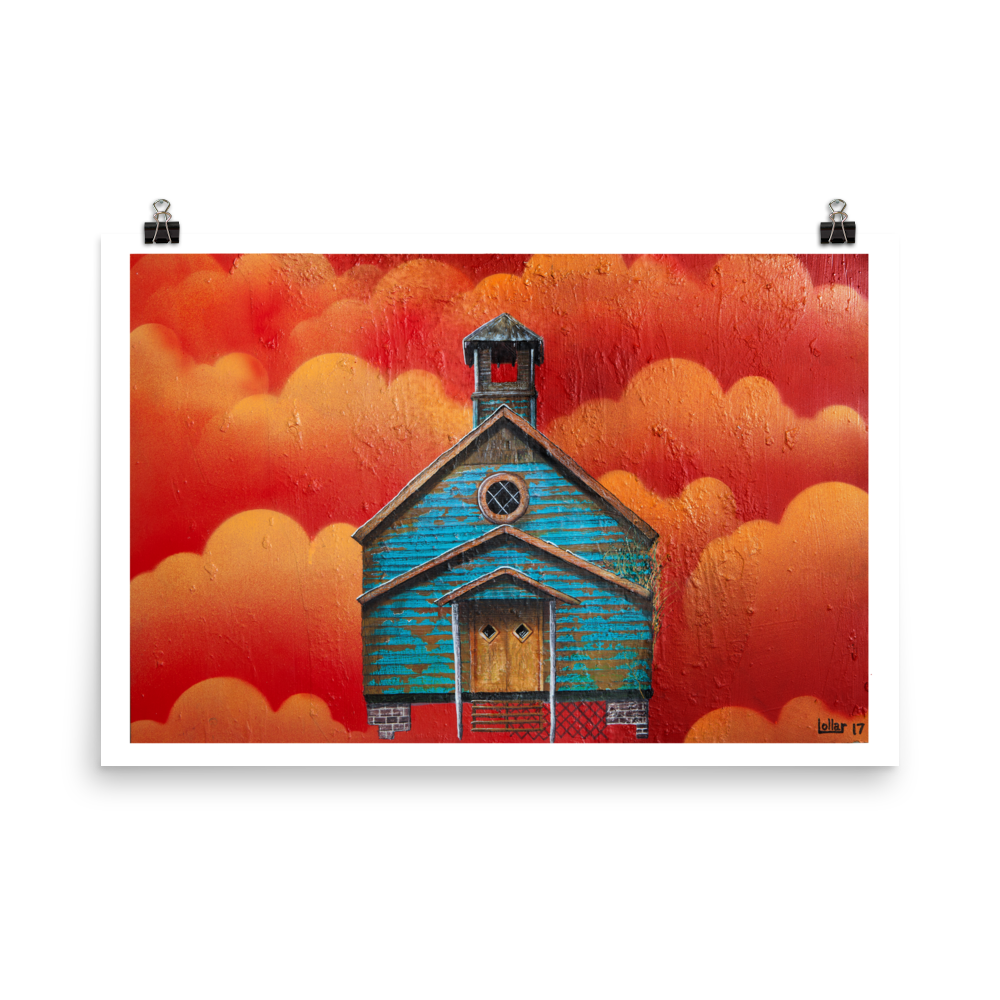 Spectre Church, Spectre AL - Fine Art Print