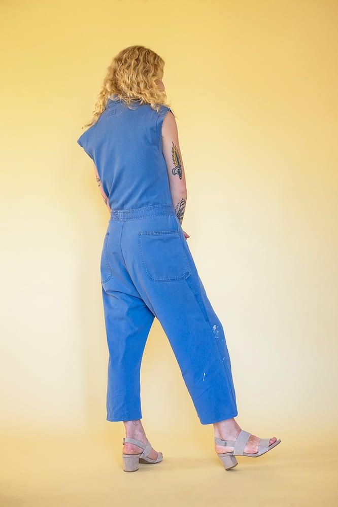 Image of DELLA COVERALLS - FRENCH BLUE
