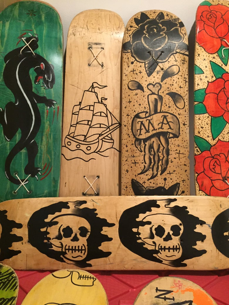 Image of Decks (used and abused wall art)