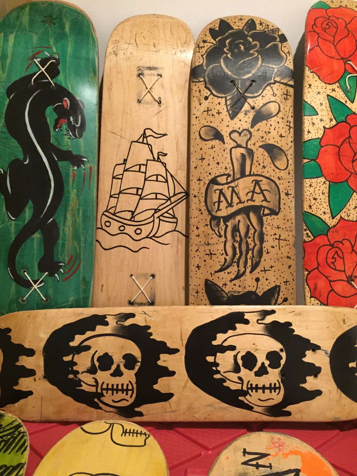 Image of Decks (used and abused wall art) & Decks (used and abused wall art) | Joey No
