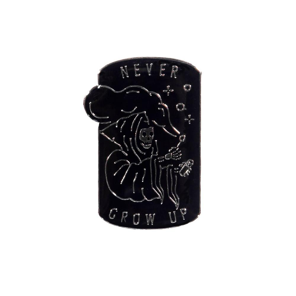 Image of Never Grow Up Pin