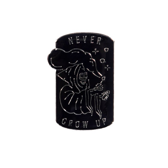 Image of Never Grow Up Pin