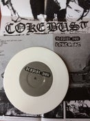 Image of white vinyl - despise you / coke bust 7""